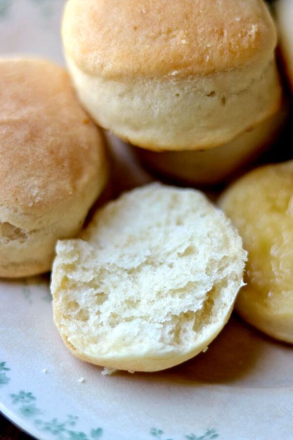 Light and fluffy! This angel biscuits recipe works every time! From RestlessChipotle.com