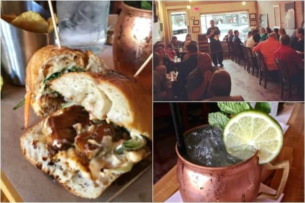 "Of all the McKinney restaurants I visited rye. had the BEST cocktail - the ""Downtown Mule"". Try it! From RestlessChipotle.com"