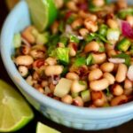 Yummy black eyed pea salad recipe is easy! Sometimes called Cowboy Caviar or Texas Caviar! From RestlessChipotle.com