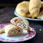 These easy, creamy chicken crescent rolls are bursting with southwestern flavor! From RestlessChipotle.com