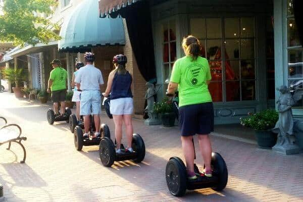 Dallas day trips -One of the most fun things to do in McKinney Texas is take the Segway tour of the historic areas. From RestlessChipotle.com