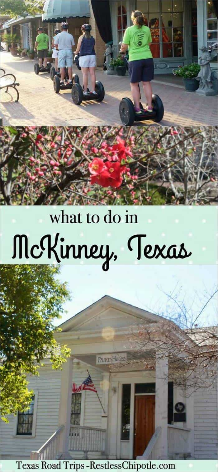 There's plenty to do for the whole family in McKinney Texas! Romantic honeymoon destination, wedding venue, historic homes, and plenty of shopping. From RestlessChipotle.com