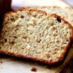 Delicious peanut butter banana bread is so unique! From RestlessChipotle.com