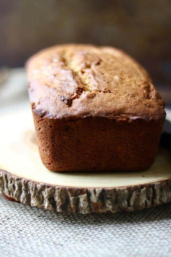 Best peanut butter banana bread recipe ever! from RestlessChipotle.com