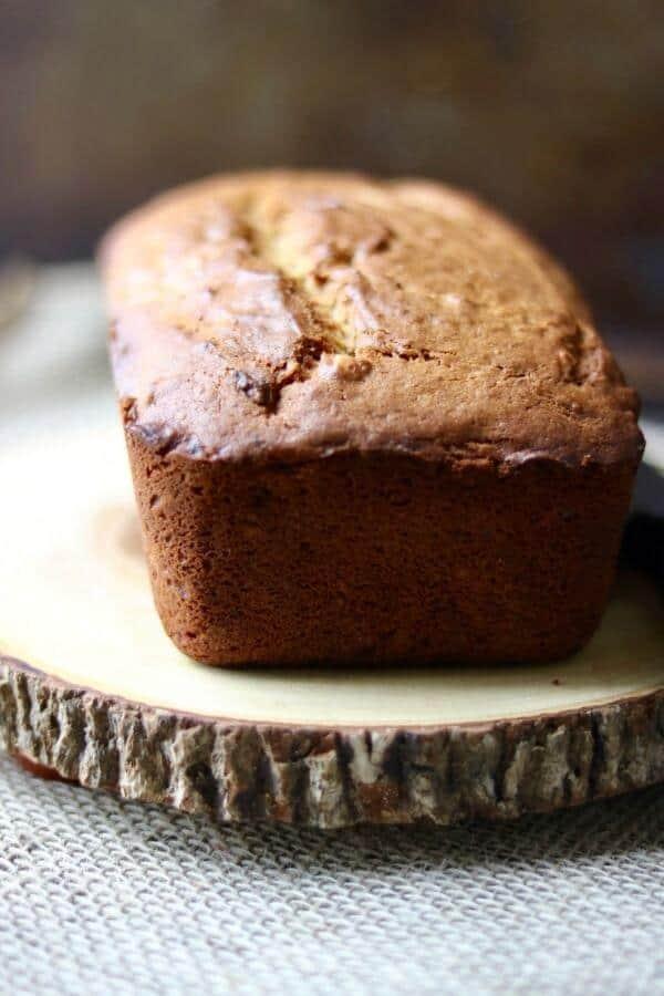 Best peanut butter banana bread recipe ever! from RestlessChipotle.com
