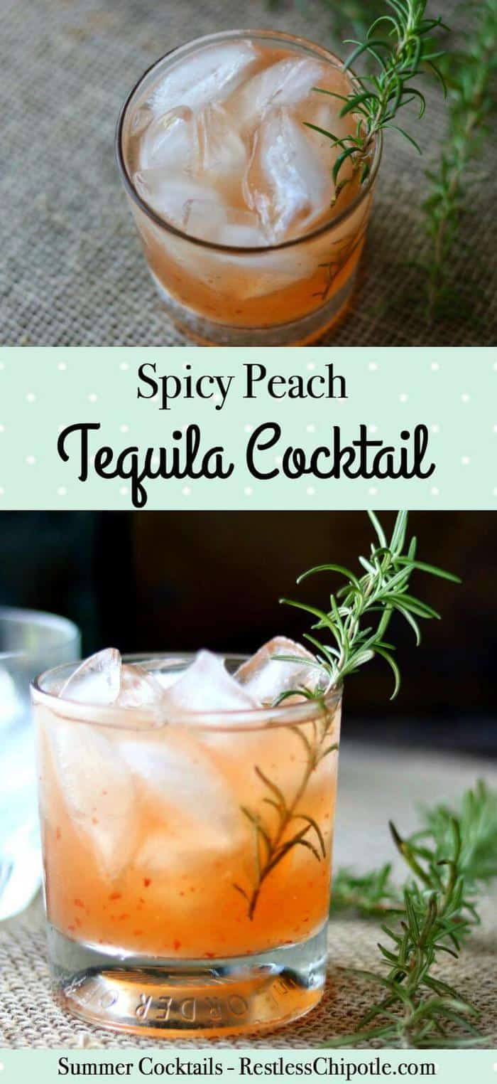 Spicy-sweet, this tequila cocktail is a take on the classic Tequila Sour recipe. Sweet peach flavor is balanced with a tart blast of lime and fiery pepper jelly. From restlesschipotle.com