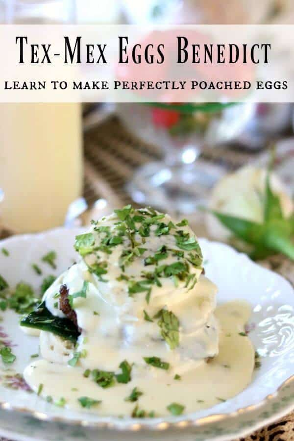 Learn to make poached eggs for this yummy eggs Benedict brunch from RestlessChipotle.com