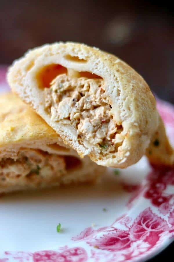 Creamy chicken crescents are filled with cheesy, gooey southewestern flavor - just right for Mother's Day Brunch! From RestlessChipotle.com