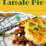 Pinterest image for tamale pie