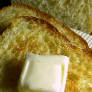 sliced english muffin bread