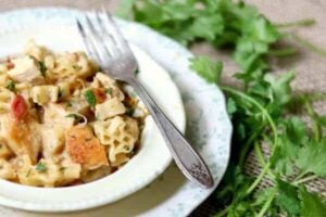 Southwest Chicken Pasta Skillet Dinner