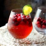 bright red cranberry moscow mule recipe image
