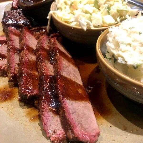 BBQ brisket from q39 Kansas City BBQ