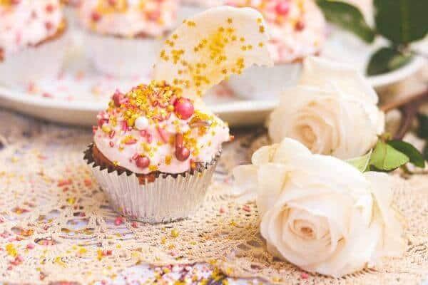 Rose Gold Velvet Cupcakes Recipe: Wish on a Star