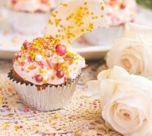 Rose Gold Velvet Cupcakes Recipe Wish On A Star