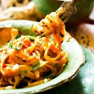 pumpkin alfredo recipe image