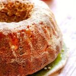 Uncut apple spice bundt cake