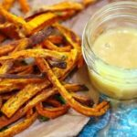 sweet potato fries recipe image for recipe card