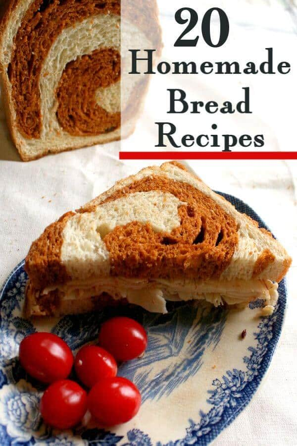 Title image. Bread with a reddish swirl in each slice.