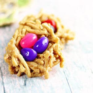 small image of easter egg cookies close up.