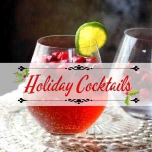 Holiday Cocktails Recipes