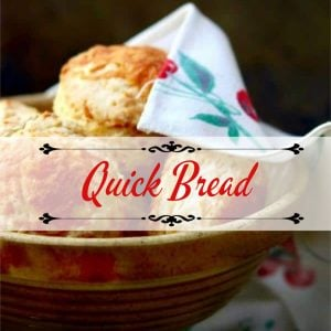 Biscuits in a bowl -category title image for quick breads