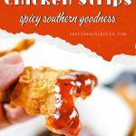 Copycat Popeye's chicken image for Pinterest