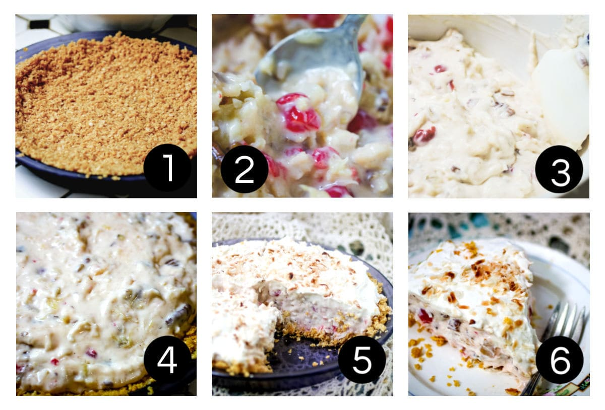 Step by step images illustrating how to make this recipe