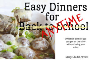 Linked cover image for Easy Dinners for Anytime Cookbook