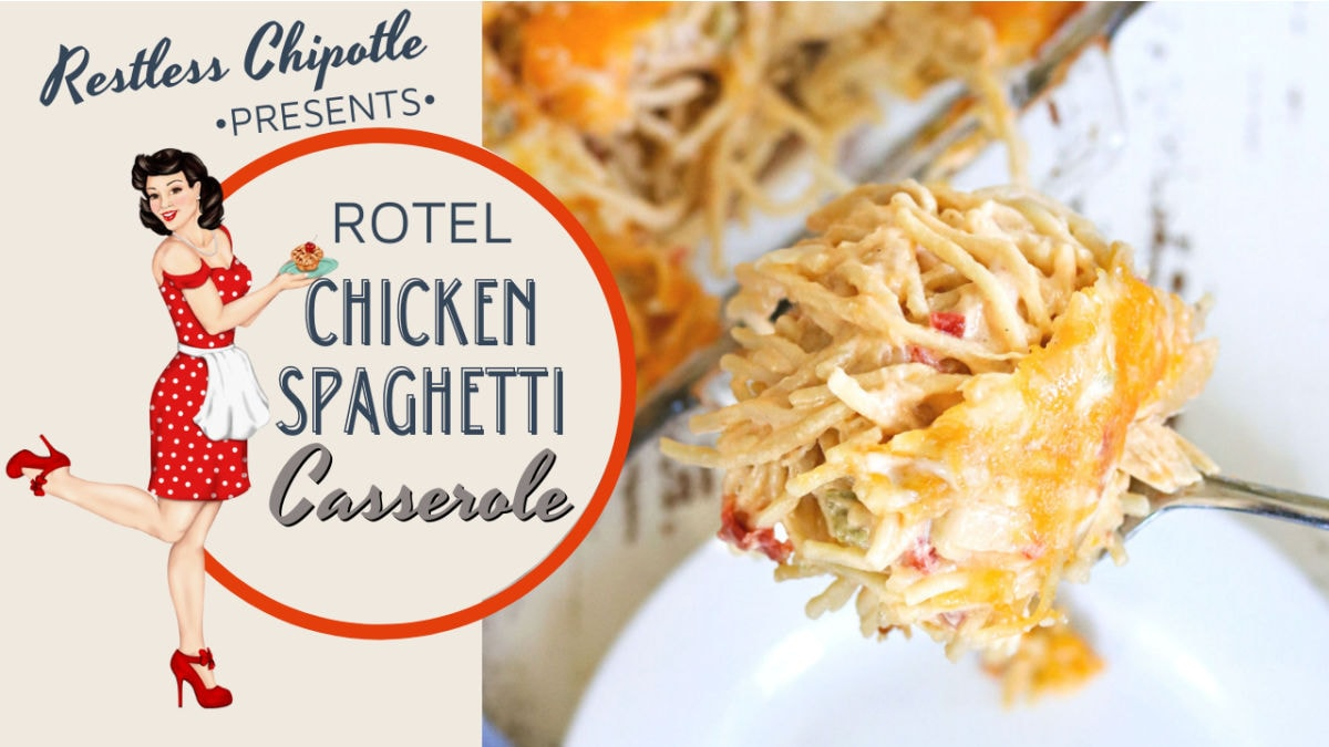 Clickable image takes you to the YouTube video for chicken spaghetti.