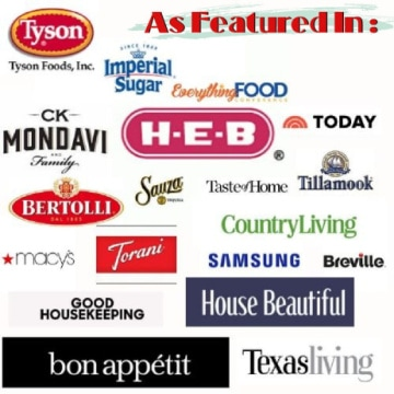 Logos of the companies Marye has worked with.