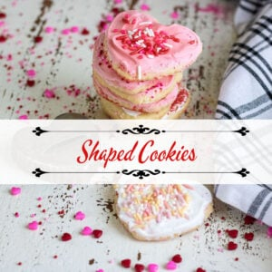 Shaped Cookies