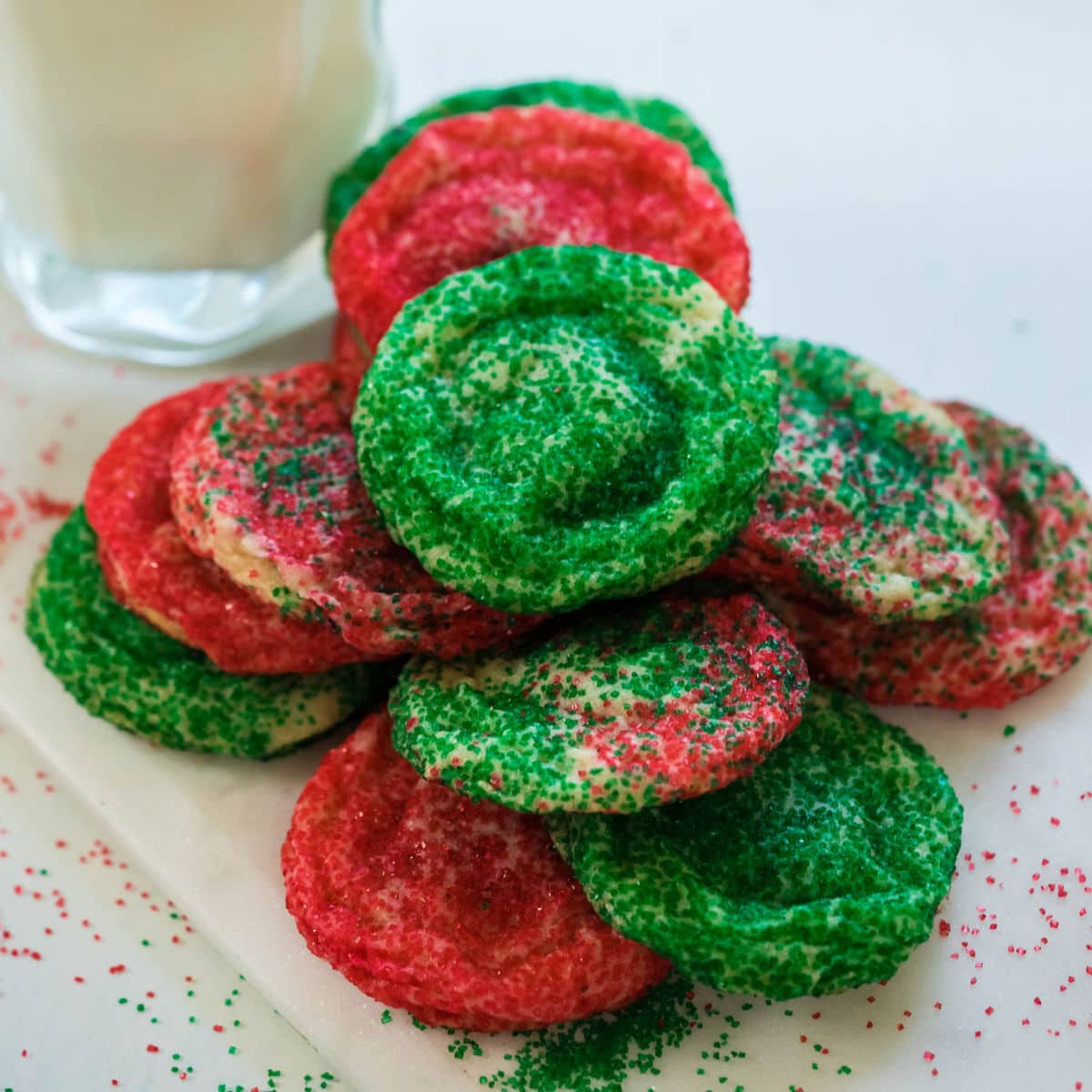 Easy 2 ingredient Rolo cookies.