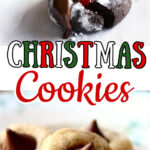Collage of cookies with text overlay for Pinterest.