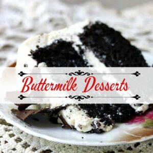 Buttermilk Dessert Recipes