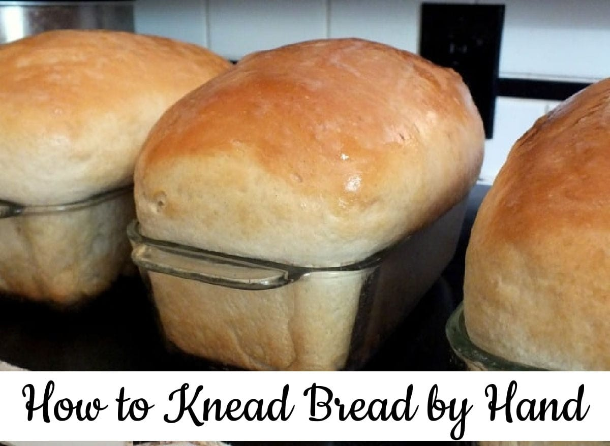 Three loaves of finished bread with title text - clickable image takes you to the YouTube video.