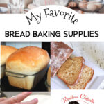 Pinterest image for Bread Baking Supplies.