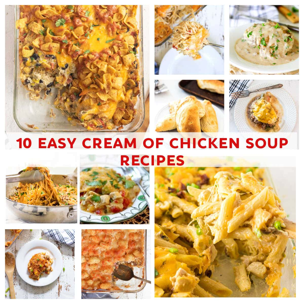 A collage of images illustrating the recipes in this post.
