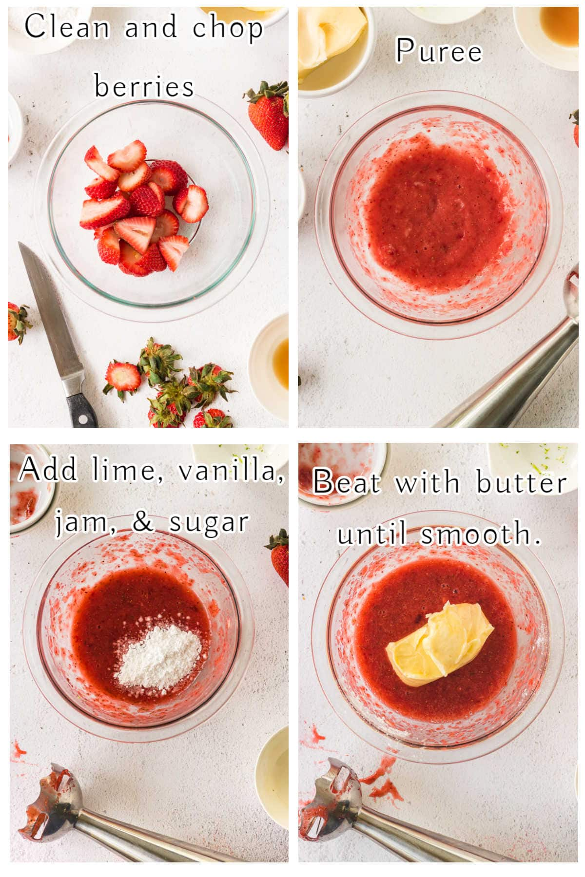 How to Make Strawberry Butter