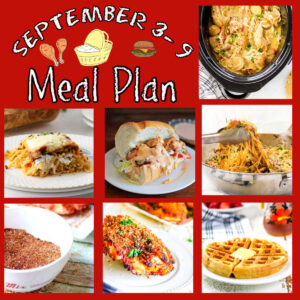 Collage of images for meal plan 37.