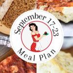 Meal plan 39 for September 17 through 23 pin for Pinterest.