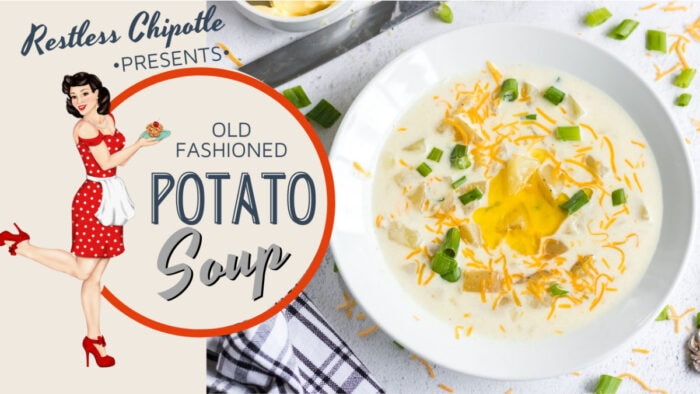 Cover for Potato Soup YouTube video. Click to go to the video.